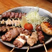 串焼き8種盛り1,280円