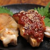 焼き豚足 赤と白 ¥680